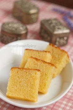 BitterSweetSpicy: Semolina Cake Sugee Cake, Cake Tray, Brownie Cake, No Bake Cake, Cupcake Cakes, Loaf Cake, Brownies, Cupcakes, Baking Recipes