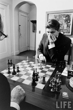 deliberate.  The best chess players, like Grandmaster Bobby Fischer, make very deliberate moves.