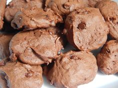 Double chocolate peanut butter banana cookies – Drizzle Me Skinny! 1 point