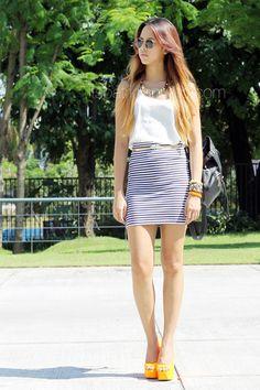 White-forever-21-top-striped-oxygen-skirt_400