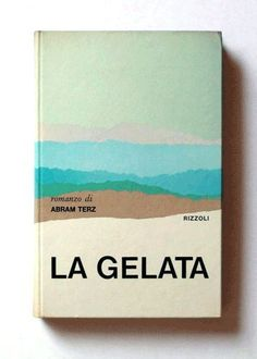 Italian designer Mario Degrada created a series of book covers for Rizzoli in the 70s.