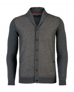 Tweed front cardigan - BOSPORT - Ted Baker