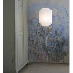 The shade part of the Helmat is a free hanging textile spiral. It gives a soft and agreeable light to the surrounding. Ikat, My Dream Home, Floor Lamp, Sconces, Helmet, Wall Lights, Shades, Lighting, Inspiration