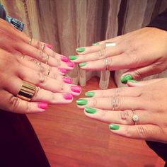 Sister nails&matchy accessories ;)
