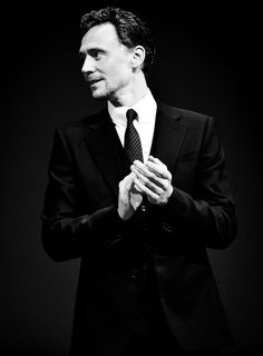 Tom Hiddleston at the Moscow premiere of The Avengers