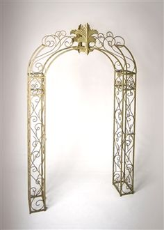 Ceremony Arch: Alexis Party Rentals (also in black or white)