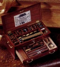 William Robertson Miniature Tool Chest