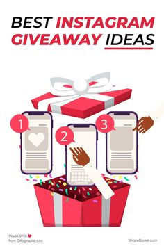 Want to grow your Instagram audience? Here are some Instagram giveaway ideas that will help you gain more followers. #Instagram #digitalmarketing #socialmedia #contentmarketing #giveaway #giveawayideas #gifts Facebook Marketing, Online Marketing, Social Media Marketing, Digital Marketing, Instagram Story Ideas, Instagram Tips, Instagram Posts, Followers Instagram, Instagram Accounts