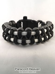 Wow! you are going to love this new product: The Black Hole - ... What are you waiting for? Check it out right here! http://www.paracord-heaven.com/products/the-black-hole-paracord-heaven-parallel-weave-survival-bracelet?utm_campaign=social_autopilot&utm_source=pin&utm_medium=pin