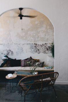 Boho and Morroco inspired sitting nook