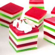 Jiggle your way through the season with a festive jello treat.