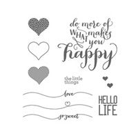 Hello Life Photopolymer Stamp Set by Stampin' Up! $25.00