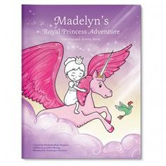 This site has all kinds of books that can be personalized for each kid. :) My Royal Princess Adventure Personalized Coloring and Activity Book - I See Me! Fantasy Princess, Royal Princess, Royal Invitation, Personalized Books For Kids, Personalized Gifts, Princess Adventure, Fairy Princesses, Color Activities, School Gifts