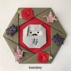 Origami for Everyone – From Beginner to Advanced – DIY Fan Origami Wreath, Origami Star Box, Origami Envelope, Origami Paper Art, Origami Stars, Diy Origami, Paper Crafts, Origami Mouse, Origami Fish