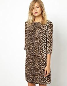 """ASOS Shift Leopard Dress - ASOS {take 10% off on all orders at ASOS w/ code """"NOVEMBER10"""" or $20 off on orders of $130+ w/ code """"ASOS20OFF"""" thru 11/10}"""