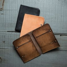 These Handmade Minimal Wallets Will Last A Lifetime