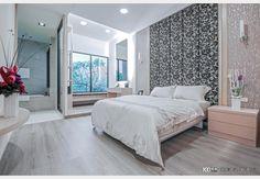 惠來上景_現代風設計個案—100裝潢網 Home Decor, Furniture, Decor, Bed