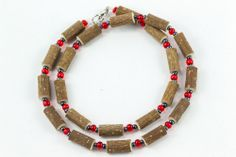 Women Hazel Necklace - red/hematite - Healing Hazel Ankle Bracelets, Necklaces, Red, Jewelry, Women, Jewlery, Jewerly, Schmuck