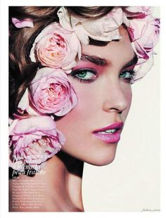Fashion pictures or video of Arizona Muse, Natasha Poly & others: Vogue Paris, November in the fashion photography channel 'Photo Shoots'. Vogue Paris, Flower Power, Arizona Muse, Natasha Poly, Ellen Von Unwerth, Annie Leibovitz, Mario Testino, Lily Aldridge, Cindy Crawford