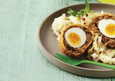 Shrek's Scotch Eggs with Colcannon