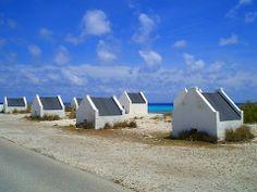 Bonaire, The old slave huts.