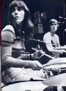 Karen was multi-talented. Not only did she have a great alto voice; she could play the drums! Most girls at that time didn't even try to play. Girls usually went for guitars or violins. She made me see that you could do whatever you had the courage to try!