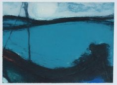 Hughie O'Donoghue | Artist | Royal Academy of Arts. Moonlight Marine, 2016.