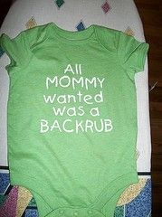 omg funny but who would put this on their kid?