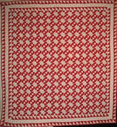Quilters Spirit: Antique Red and White Quilts