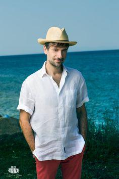 Panama Hat, Mens Fashion, My Love, Celebrities, Men's Clothing, Hats, Greek, Photography, Entertainment