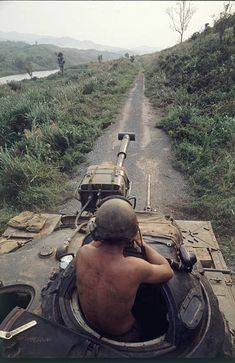 war drone 70 Dramatic and Haunting Photographs Capture Everyday Life of U.S Soldiers During the Long and Divisive War in Vietnam ~ vintage everyday Vietnam History, Vietnam War Photos, Military Art, Military History, M48, Rock Poster, Indochine, War Photography, Vietnam Veterans