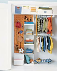 9 Organizing Solutions for Kids' Closets