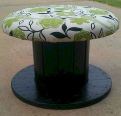 Marvelous Diy Recycled Wooden Spool Furniture Ideas For Your Home No 31