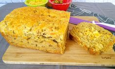 Mom Knows Best : Green Chile Cheese High Protein Bread