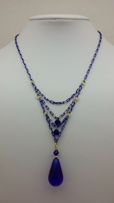 Made by Sara Ellis using JSKIT0302 - Diamond Cut Chain. Click here to buy this kit! http://www.jtv.com/color-coated-brass-chain-kit--dia-cut-2-meters-ea-blk-wht-1-meter-ea-green-purple-royal-blue/1469149.html