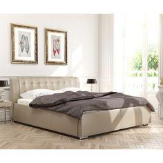 Cikkszám: EMILIA-BZS-160 Az EMILIA kárpitozott ágy kiváló minőségű anyagokból készült, ezáltal biztosított, hogy hosszú éveken át gyönyörködhetsz majd pazar megjelenésében. Rendkívül kényelemes, több méretben és színben rendelhető. Dobja fel hálószobáját és teremtsen stílusos és kényelmes környezetet!