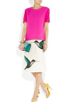 oh Jil Sander. I want this skirt. I'd probably ruin it with stains though.