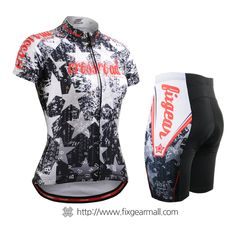 Fixgearmall - #FIXGEAR Women's #Cycling #Jersey & #Pants Set, model no CS-W2402-SET, #Unique Design and Advanced Performance Fabric. ( #AeroFIX ) #MTB #Roadbike #Bicycle #Downhill #Bike #Extreme #Sportswear