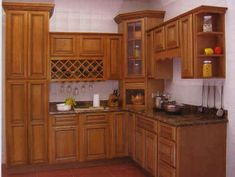 High End Kitchen Cabinets   High-End Solid Wood Kitchen Cabinet ...