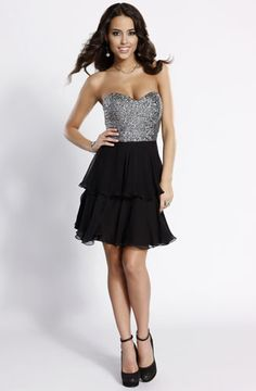 The combination of materials are fantastic in this Scala fall 2012 dress 47449 $178 #party #graduation #homecoming #prom #wedding #dresses #fashion