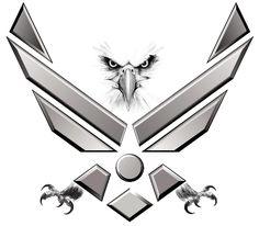 Air Force Symbol Tattoo | Thread: Help with patriotic tattoo