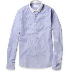 Slimfit Contrast-collar Cotton Shirt. By Hartford via Mr Porter.