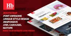 Heisennberg - Creative Responsive HTML Template