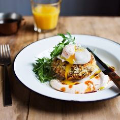 If you happen to be looking for the perfect breakfast dish to make for your Valentine tomorrow, look no further! These beef hash cakes with chipotle yoghurt will work magic…  Recipe by Joss Herd, photo by Laura Edwards. Recipe in issue 46 on sale now!