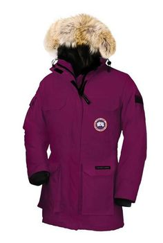 Womens Canada Goose Expedition Parka Berry