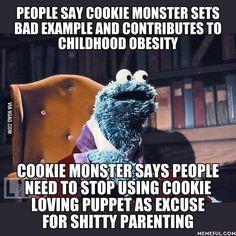 Cookie Monster - 9GAG