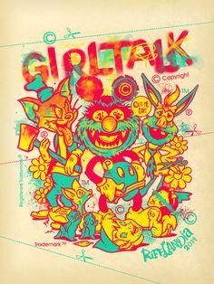 Girltalk poster by TRUST