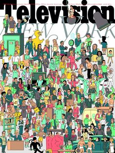 New York Magazine Cover -Annual TV Issue