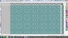 page 41: A Handweaver's Pattern Book | Gothic Cross | Margeurite P. Davison | 1944 | 4-shaft, 6-treadle