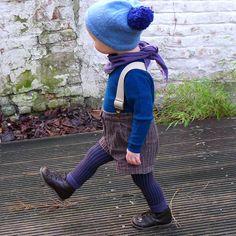 Winter woolies - too cute / avec Felix